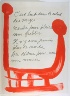 Pablo Picasso / Untitled, design for page 27 of the book Le Chant des  morts (The Song of the Dead) by Pierre Reverdy (Paris: Tériade Editeur, 1948) / 1948