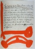 Pablo Picasso / Untitled, design for page 107 of the book Le Chant des  morts (The Song of the Dead) by Pierre Reverdy (Paris: Tériade Editeur, 1948) / 1948