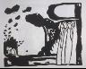 """Wassily Kandinsky / """"Improvisation 19"""" in the book Klänge (Munich: R. Piper, 1913) / 1911"""