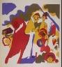 """Wassily Kandinsky / """"Allerheiligen"""" in the book Klänge (Munich: R. Piper, 1913) / 1911"""