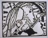 """Wassily Kandinsky / """"Motiv  aus Improvisation 10"""" in the book Klänge (Munich: R. Piper, 1913) / 1911"""