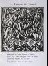 """Raoul Dufy / """"Le Chevre du Thibet""""   in the book Le Bestiaire ou cortège d'Orphée by Guillaume Apollinaire (Paris: Deplanche, Éditeur d'Art, 1911). / 1911"""