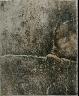 """Jean Dubuffet / """"La Traviale"""" in the book Le Mirivis des naturgies (Paris: Jean DuBuffet, 1963) / 1963"""