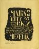 Fernand Léger / Back cover and 22nd illustration in the book La Fin du monde, filmée par l'ange N.D. by Blaise Cendrars (Paris: Editions de la Sirène, 1919) / 1919