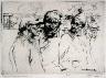 Armin Carl Hansen / Three Fishermen / 1922