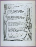 Oscar Dominguez / First page of the poem Libertý  in the book Poýsie et veritý 1942 by Paul Eluard  (Paris: Roger Lacouriýre, 1947) / 1947