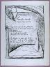 Oscar Dominguez / Page of the poem Première marche la voix d'un autre  in the book Poésie et verité 1942 by Paul Eluard  (Paris: Roger Lacourière, 1947) / 1947