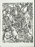 André Derain / Untitled in the book L'Enchanteur pourissant by Guillaume Apollinaire (Paris: Henry Kahnweiler, 1909). / 1909