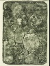 Jean Dubuffet / Untitled, in the book Matière et mémoire ou les lithographes à l'école by Francis Ponge (Paris: Fernand Mourlot, 1944). / 1944
