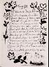 """Pablo Picasso / """"Texte. Soneto XVIII,"""" in the book Góngora: Vingt poëmes by Luis de Góngora y Argote (Paris: Les Grands Peintres modernes et le Livre, 1948). / 1947"""