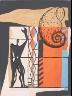 Charles Édouard Jeanneret (Le Corbusier) / Untitled, pg. 55, in the book Le Poéme de l'angle droit by Edmond Jeanneret (Le Corbusier) (Paris: Tériade Éditeur, 1955) / 1955