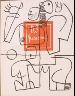 Charles Édouard Jeanneret (Le Corbusier) / Untitled, pg. 111, in the book Le Poéme de l'angle droit by Edmond Jeanneret (Le Corbusier) (Paris: Tériade Éditeur, 1955) / 1955