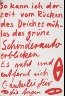 A.R. Penck / Untitled, page 63 in the book Lyrick by Sarah Kirsch (Berlin: Edition Malerbücher, 1988) / 1988