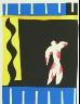 Henri Matisse / Untitled, illustration 1, frontispiece, in the book Jazz by Henri Matisse (Paris: Tériade Éditeur, 1947) / 1947