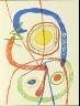 Joán Miró / Untitled, illustration 62, in the book A Toute Épreuve (Proof Against All)  (Geneva: Gérald Cramer, 1958) / 1958