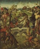 Europe,Germany / Battle of Constantine and Maxentius / c. 1490