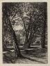 Francis Seymour Haden / Kensington Gardens / 1859