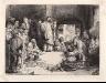 Harmenszoon van Rijn Rembrandt / La Petite Tombe (Jesus Christ Preaching) / ca. 1652