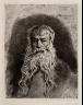 Paul Adolphe Rajon / Portrait of Meissonier (after Meissonier) / 1881