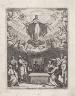 Jacques Callot / Assumption of the Virgin / 1632-1638