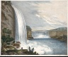 W. B. Lucas / The Falls of Niagara-Side of the American, Horse Shoe Fall in Distance / n.d.