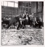 Hans Namuth / Jackson Pollock painting One and Lee Krasner / 1950