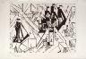 Lyonel Feininger / Shops / 1918