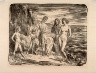 Augustus Edwin John / The Bathers / not dated