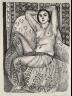 Henri Matisse / Odalisque Sitting / 1924