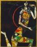 Marc Chagall, French, born Russia, 1887-1985 / Acrobat / 1914
