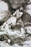 Francisco Goya Y Lucientes / Se aprovechan / Drawn and etched about 1810-1814, whole series first published posthumously 1863