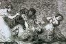 Francisco Goya Y Lucientes / Infame provecho / c. 1810