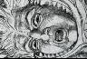 William Blake / Agnello and Cianfa merging into a single body, Dante's Inferno, Canto, X / Dates not recorded