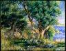 Pierre Auguste Renoir / Landscape on the Coast, near Menton / 1883