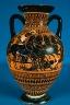 Artist not recorded / Panathenaic amphora / about 530 B.C.