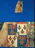 Artist not recorded / Armorial Shield A, fragment from THE STORY OF PENELOPE AND THE STORY OF / about 1480-83