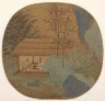 China, Southern Song Dynasty (1127-1279) / Conversation in a Thatched Hut / late 13th century