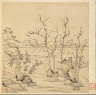 Chen Hongshou / Paintings after Ancient Masters: Landscape in the Style of Ni Tsan / 1598-1652