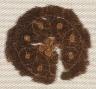 Egypt, Byzantine period, 4th - 5th century / Round Segmentum from a Tunic / 300s - 400s