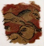 Egypt, late 6th century (?) / Fragment with Two Animals (?) / 580 - 599 (?)