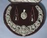 England, 19th Century / Earrings (Parure) / c. 1850