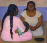 Diego Rivera / Two Women and a Child / 1926