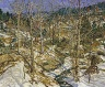 Walter Elmer Schofield / The Birches (The Ravine) / 1922