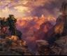 Thomas Moran / Grand Canyon with Rainbow / 1912