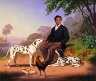 Charles Christian Nahl / Sacramento Indian with Dogs / 1867