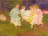 Edward Henry Potthast / Ring Around the Rosy / 19th - 20th century