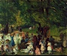 William Glackens / May Day, Central Park / circa 1905