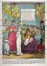 Thomas Rowlandson / A Bonnet Shop / 18th - 19th century