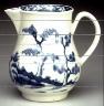 Worcester factory / Cream jug / circa 1765 - 1768