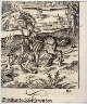 Hans Leonhard Schäufelein / Illustration from Theuerdank (Allegorical work commissioned by Emperor Maximilian I ) / 15th - 16th century